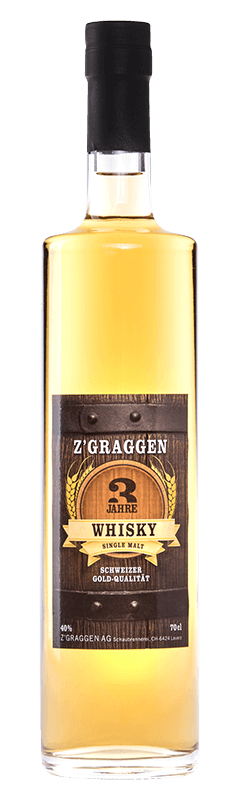 Z'Graggen Single Malt Whisky 3-jährig